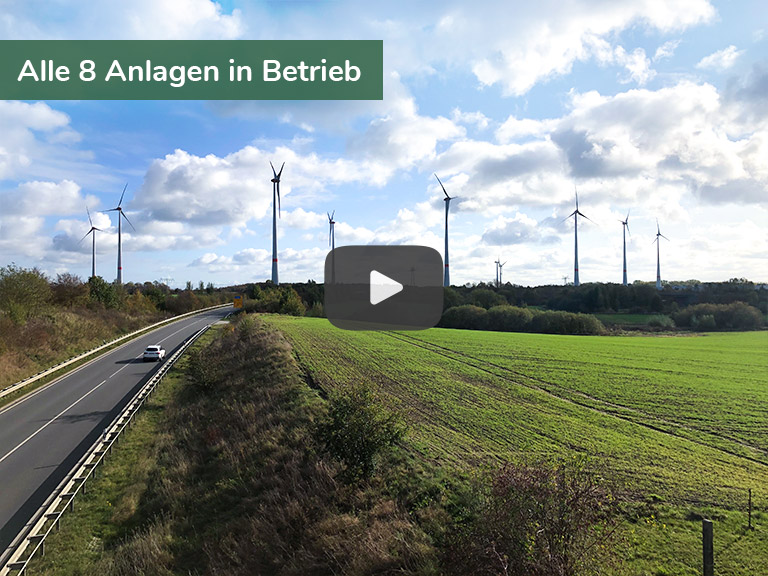 Kampagnenbild Bürgerwindpark Schönberg