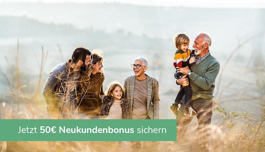 Nur im April: Wir schenken Ihnen 50 Euro für Ihre erste Investition