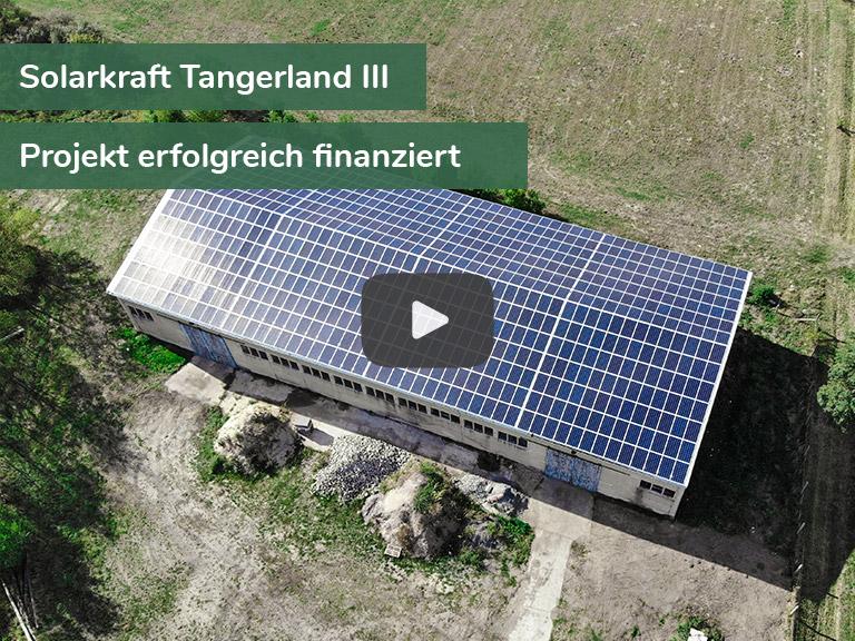 Kampagnenbild Solarkraft Tangerland III