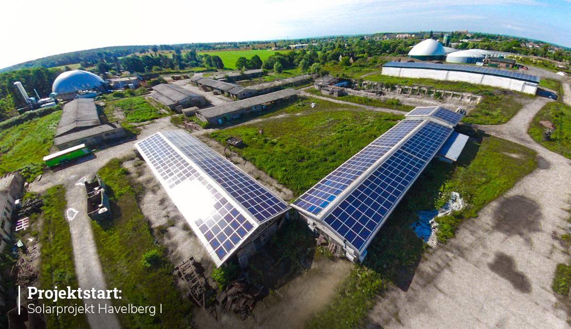 Projektstart – Solarprojekt Havelberg I