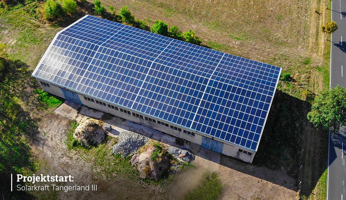 Projektstart: Solarkraft Tangerland geht in die dritte Runde!